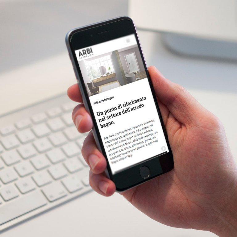 sito web responsive arbi