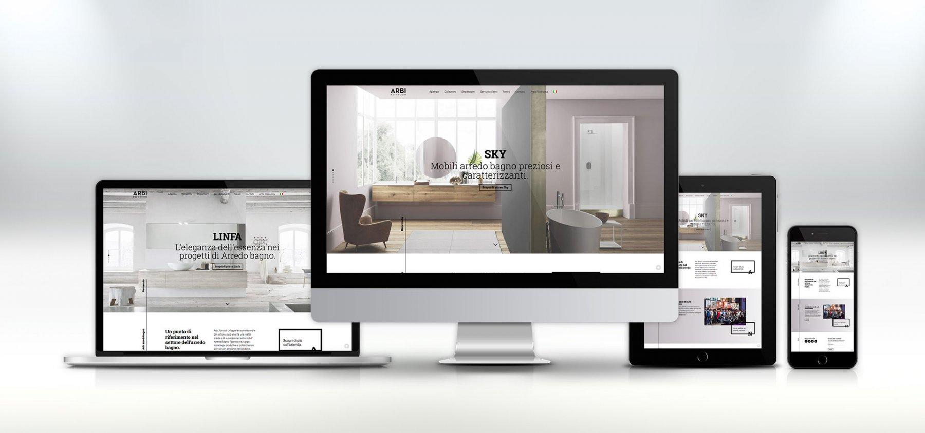 sviluppo sito web responsive arbi